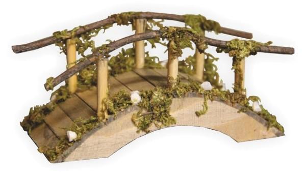 Moosbrücke als Krippenstalldekoration