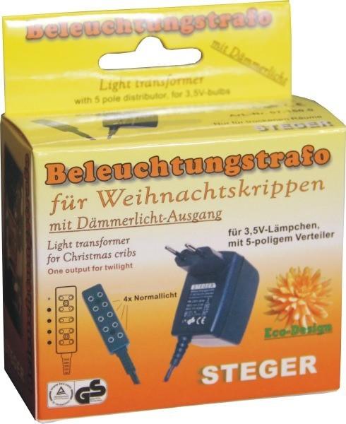 Beleuchtungstrafo für Weihnachtskrippen
