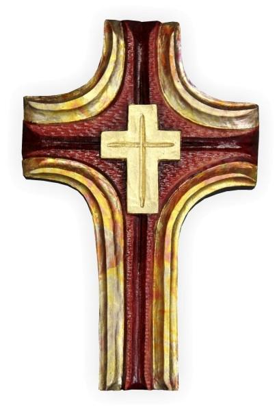 Stilisiertes Kreuz zum Schnitzen