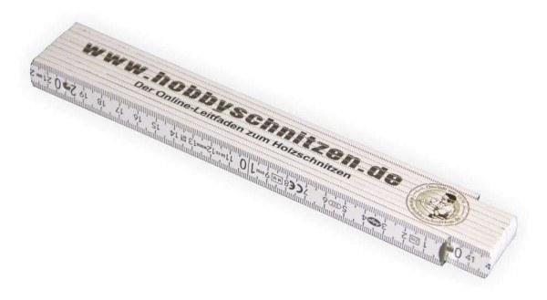 Zollstock Meterstab für Schnitzer