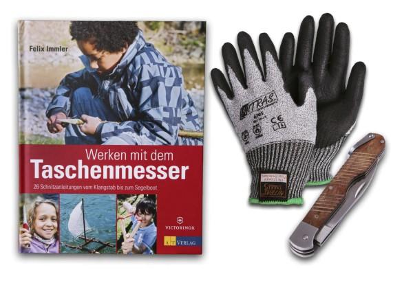 Taschenmesser-Schnitzset für Kinder