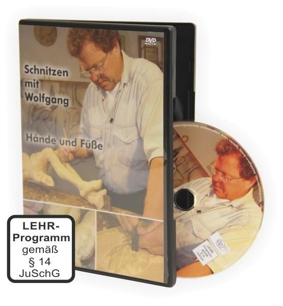 Hände und Füße schnitzen mit Wolfgang