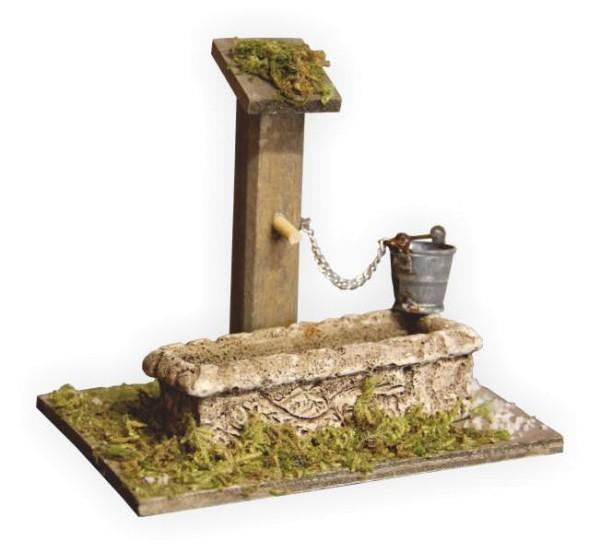 Steintrog Tiertränke Brunnen
