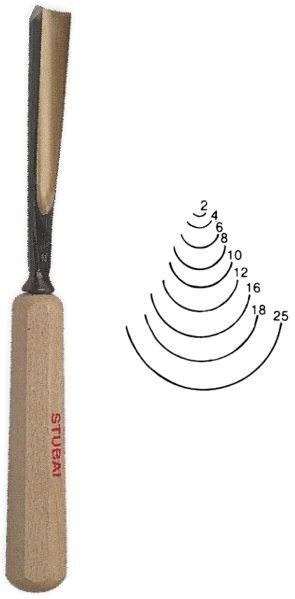 Stubai Standard Stich 10 Schnitzwerkzeug